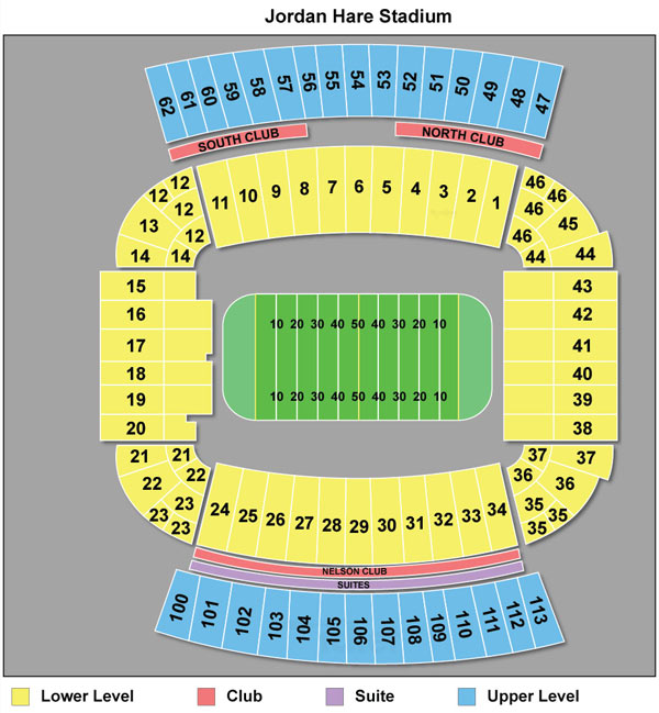 Seating chart auburn football tickets